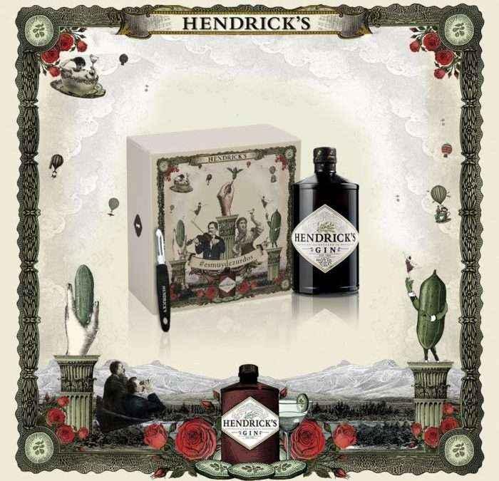 HENDRICK'S GIN. Una nueva edición para zurdos