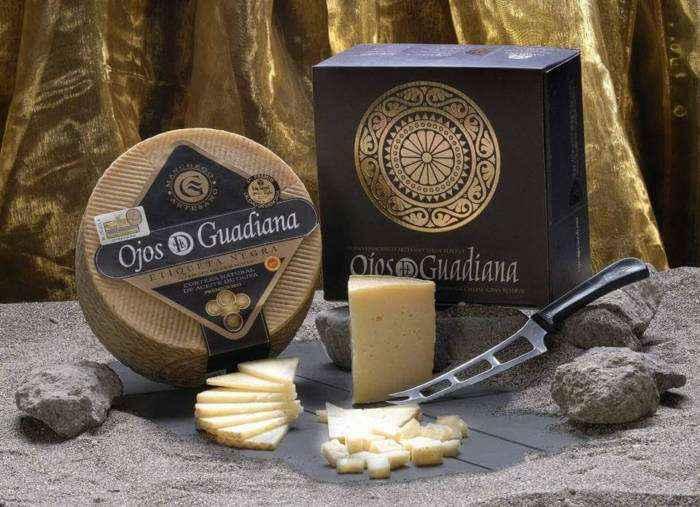 OJOS DEL GUADIANA. El mejor queso de oveja intercontinental