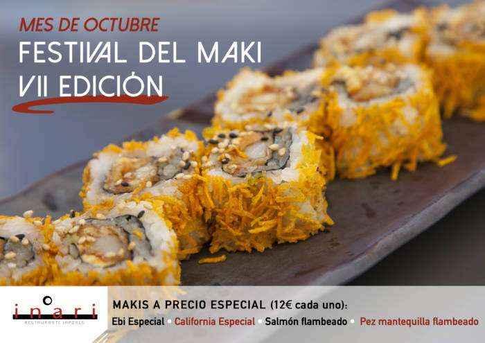 INARI. Llega el VII Festival del Maki