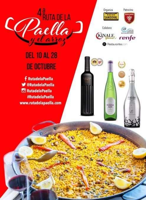 IV RUTA DE LA PAELLA Y EL ARROZ. La gran fiesta arrocera de Madrid