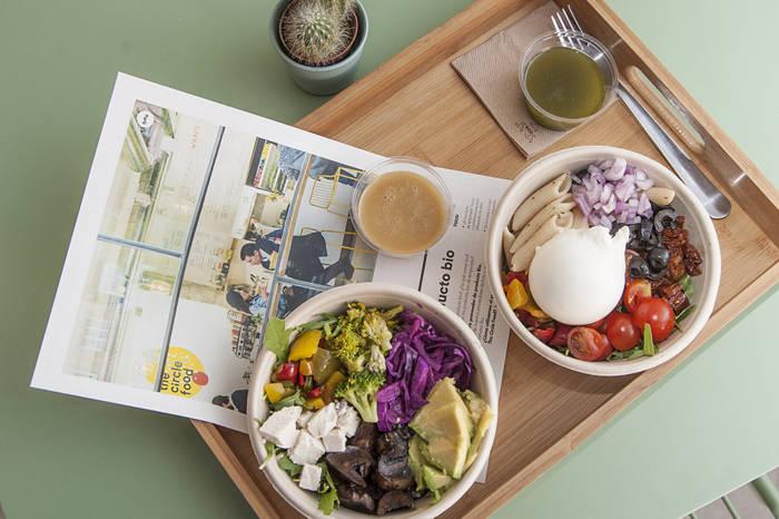 THE CIRCLE FOOD. Un concepto redondo, saludable y sabroso
