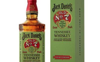 JACK DANIEL'S LEGACY EDITION. Una etiqueta con historia y color