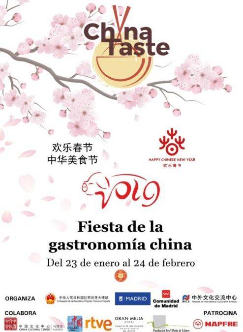 CHINA TASTE 2019. La gran fiesta gastronómica del Año Nuevo Chino