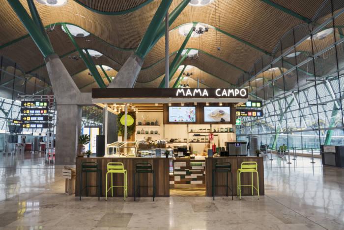MAMA CAMPO. Gastronomía saludable en el Aeropuerto de Madrid