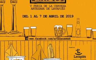 ARTESANA WEEK LAVAPIÉS 2019. La gran fiesta de la cerveza artesana