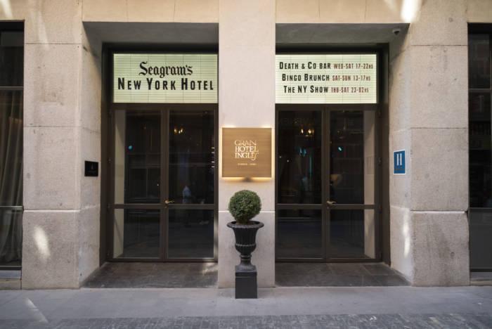 SEAGRAM'S NY HOTEL. Nueva York llega al GRAN HOTEL INGLÉS