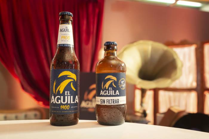 EL ÁGUILA. La vuelta de una gran cerveza … ahora también sin filtrar