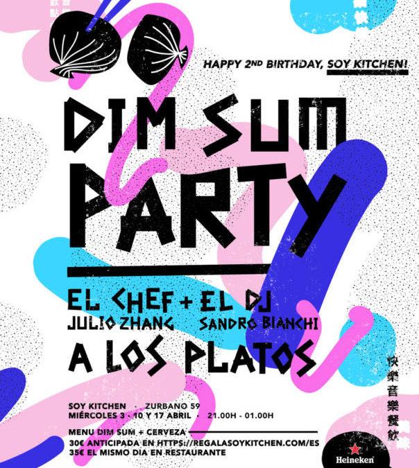 SOY KITCHEN. Espectacular Dim Sum Party para celebrar el cumpleaños