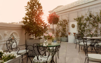 El Jardín del HOTEL ORFILA y las Terrazas del HOTEL HERITAGE. Dos lugares para disfrutar