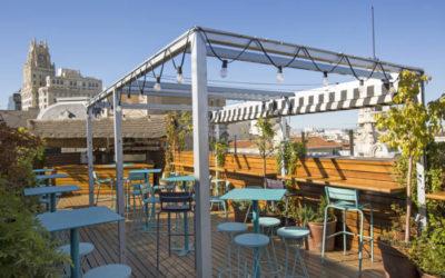 ÁTICO 11. La deliciosa terraza del HOTEL IBEROSTAR LAS LETRAS GRAN VÍA