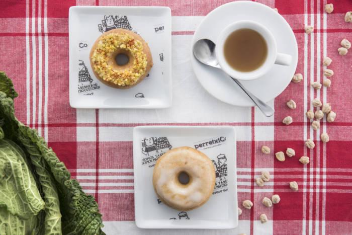 PERRETXICO. El cocido madrileño en un donut