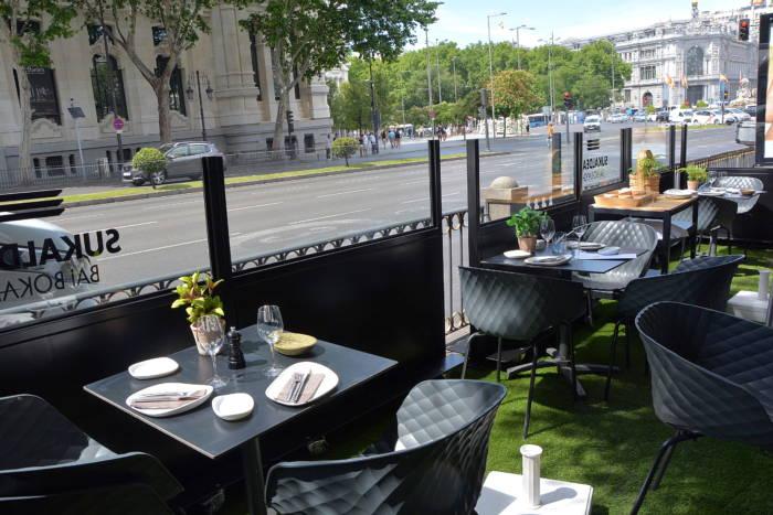 SUKALDEAN BAI BOKADO. Una de las terrazas más auténticas de Madrid