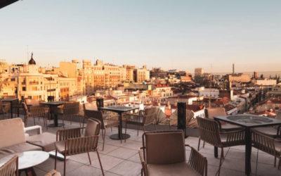 GINKGO SKY BAR. Elegida como la mejor terraza de Madrid