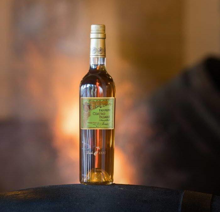TÍO PEPE CUATRO PALMAS. El Mejor Vino del Mundo