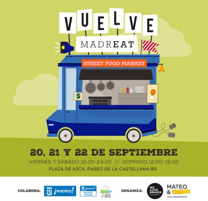 MADREAT. ¡Vuelve la gran fiesta de la gastronomía callejera en Madrid!