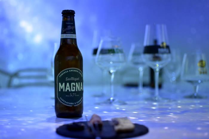 SALA MAGNA de SAN MIGUEL. Cerveza y creatividad de la mano