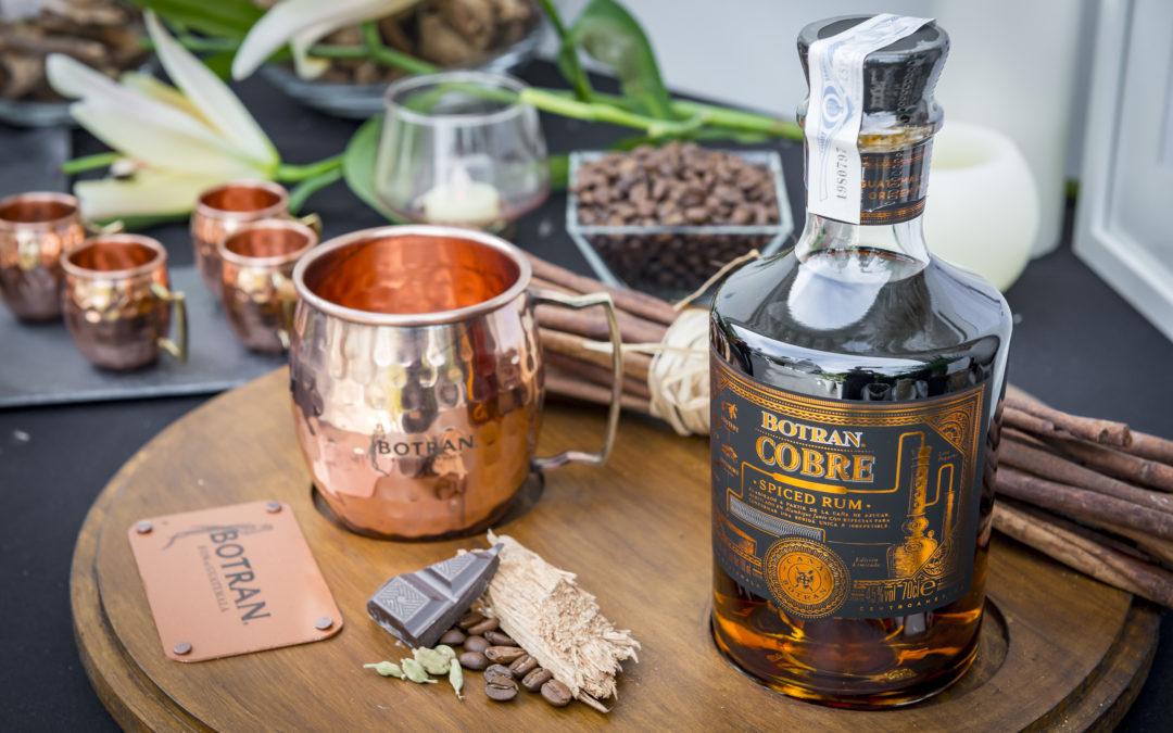 BOTRAN COBRE. Un ron excelente con toda el sabor de Guatemala