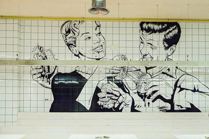 AQUÍ VA NUESTRO LOGO. MAD GRILL desvela el secreto de la hamburguesería más misteriosa de Madrid