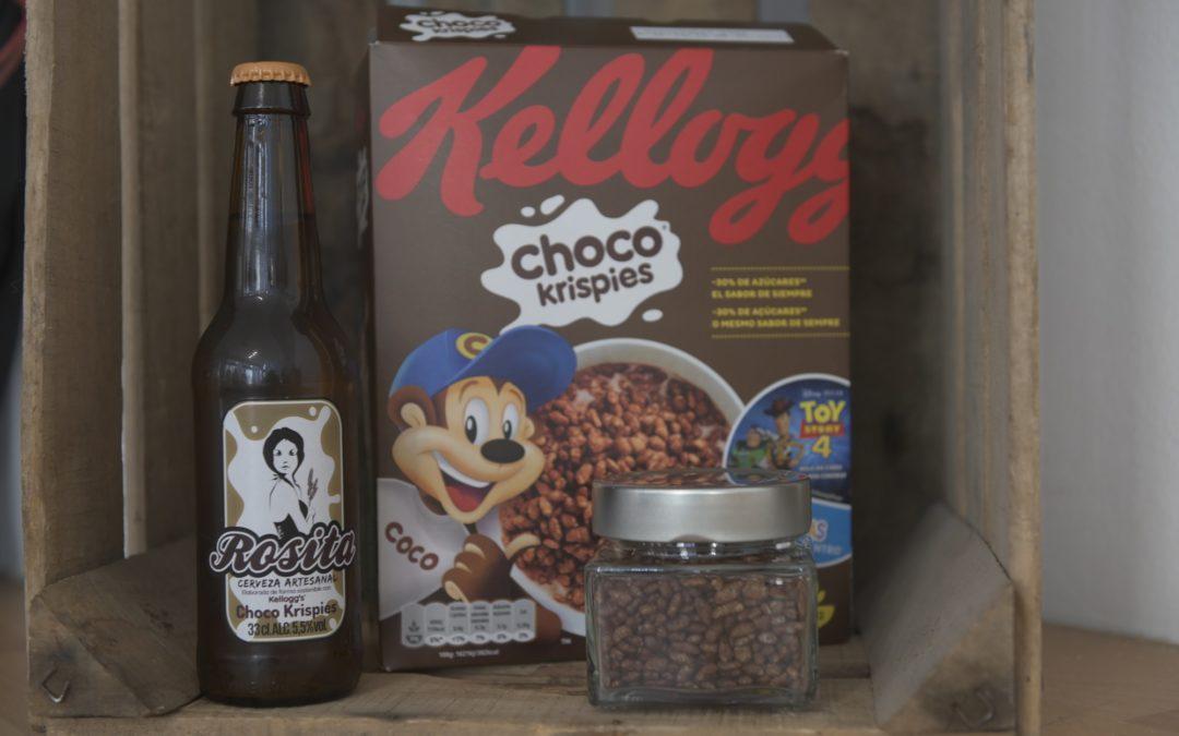 ROSITA KELLOGG'S CHOCO KRISPIES. Una cerveza artesana y sostenible