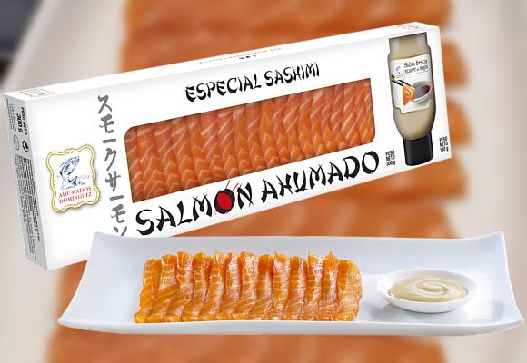 AHUMADOS DOMÍNGUEZ. Delicioso sashimi para Navidad