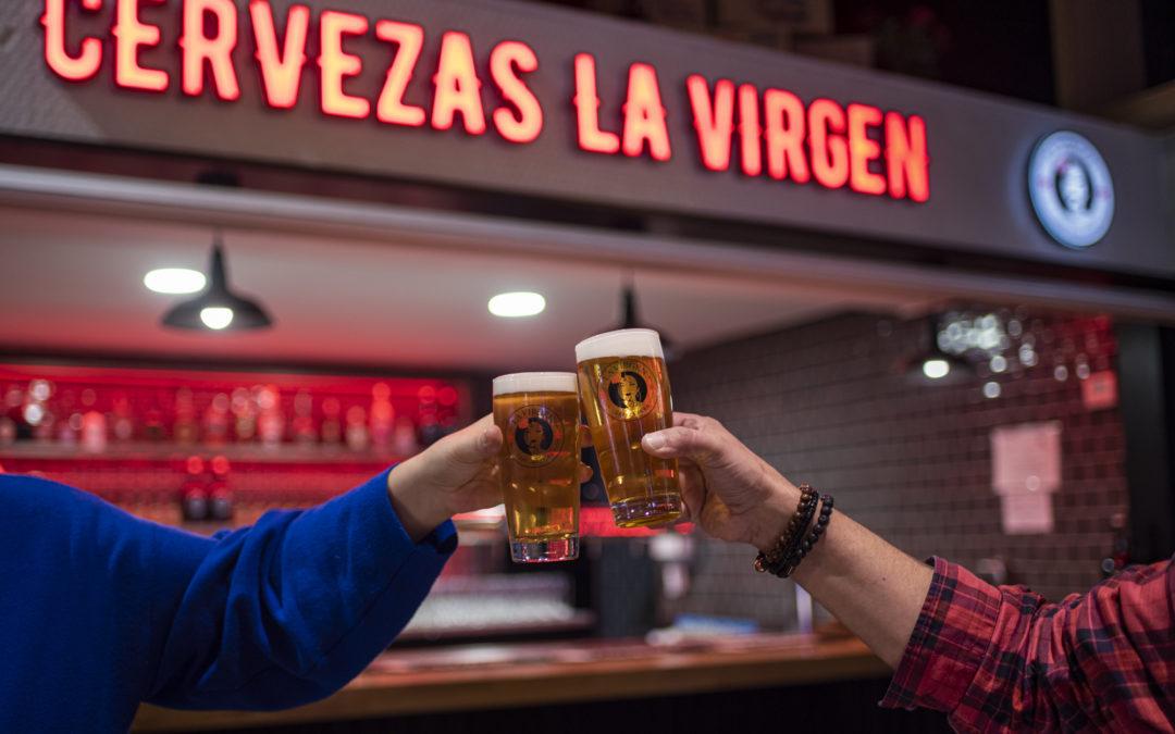 CERVEZAS LA VIRGEN. Nuevo espacio cervecero en La Chispería