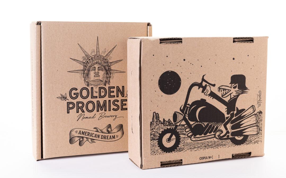 GOLDEN PROMISE BREWING. Una cerveza artesana inspirada en el sueño americano