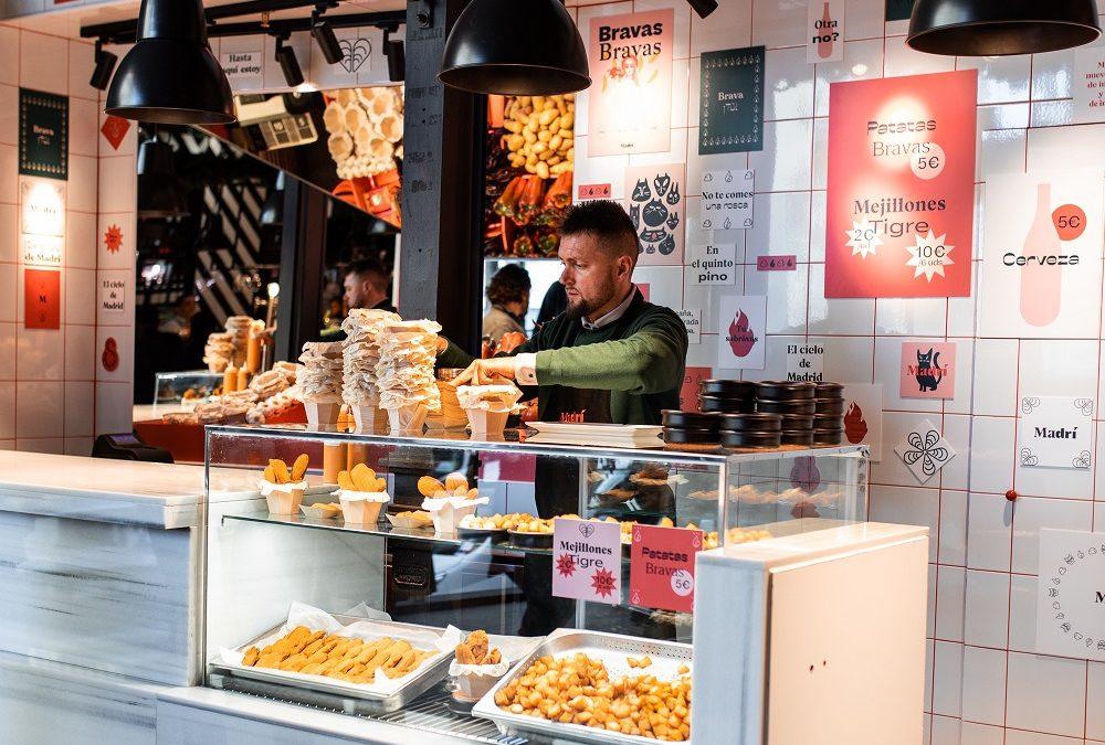 MADRÍ. La nueva barra castiza de ARZÁBAL en el Mercado de San Miguel